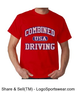 US Combined Driving Team Benefit shirt Design Zoom